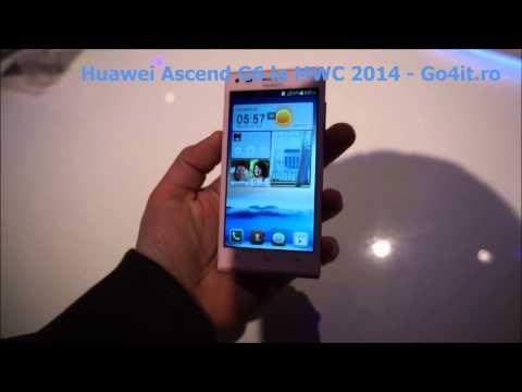 Huawei Ascend G6 la MWC 2014