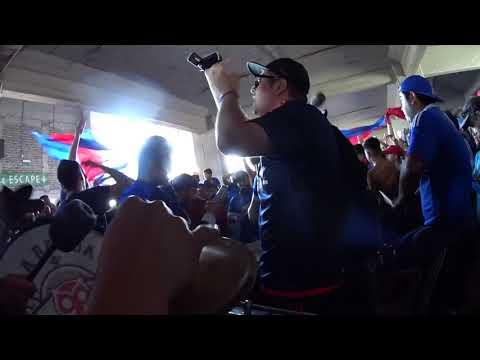 LOS DE ABAJO   carnaval en el tunel 14 sur 9 10 17 - Los de Abajo - Universidad de Chile - La U - Chile - América del Sur