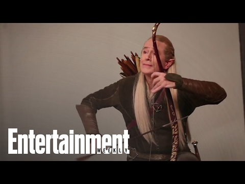 Stephen Colbert Dresses Up As Characters From 'Hobbit' For Covershoot | Entertainment Weekly