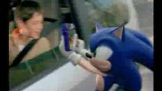 Sonic the Hedgehog McDonald's French Commercial