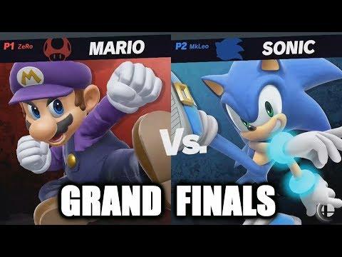 ZeRo vs MkLeo Grand Finals - Super Smash Bros. Ultimate Invitational at E3 2018