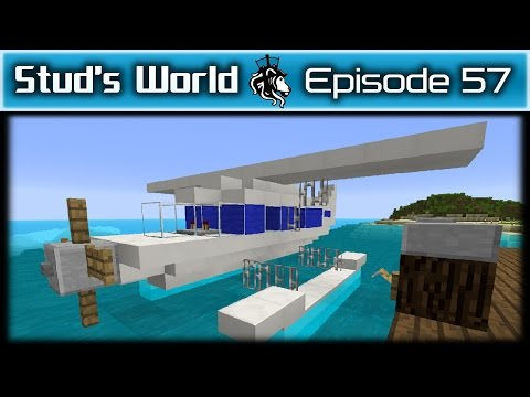 Minecraft Sea Plane - Stud's World - 57