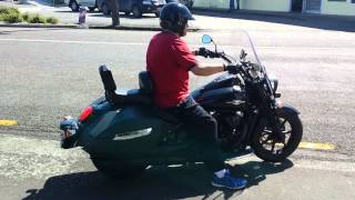 9. 2013 Suzuki Boulevard C90T BOSS exhaust sound