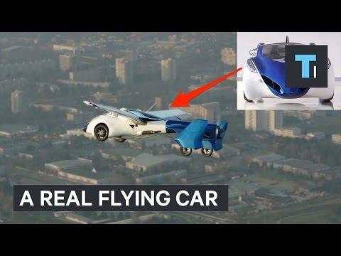 Настоящий летающий автомобиль