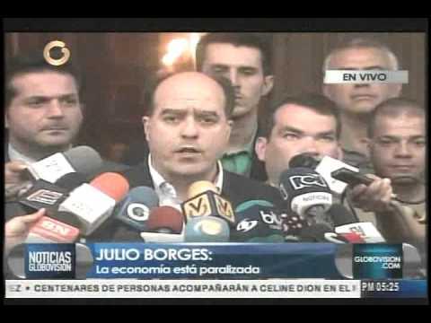 """Julio Borges: """"Decreto de Emergencia Económica es el camino a repetir errores"""""""