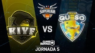 SUPERLIGA ORANGE - KIYF VS TEAM QUESO - Jornada 5 - #SuperligaOrangeCR5