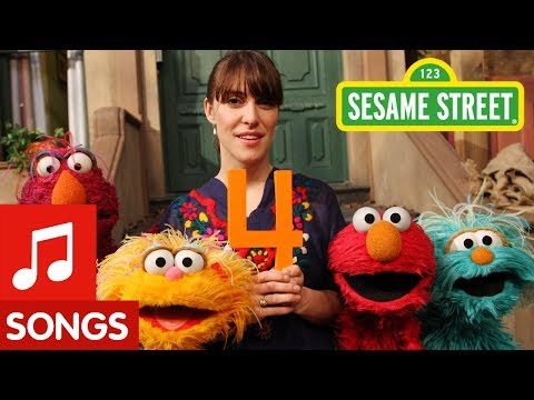 1234 - Feist sings 1, 2, 3, 4 the Sesame way. For more fun games and videos for your preschooler in a safe, child-friendly environment, visit us at http://www.sesam...
