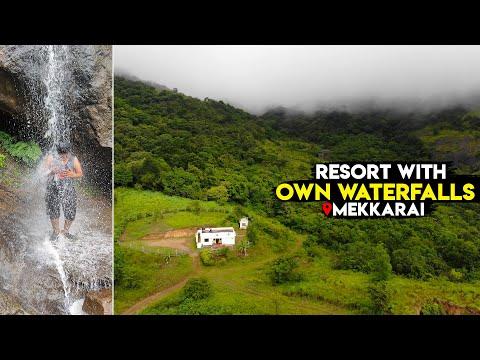 Resort with Private Waterfalls - Mekkarai - Mohan Resort