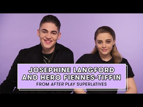 Hero Fiennes-Tiffin and Josephine Langford from 'After' Reveal Who's the Biggest Romantic and More