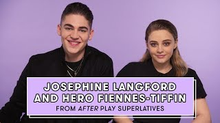 Hero Fiennes-Tiffin and Josephine Langford from 'After' Reveal Who's the Biggest Romantic and More by Seventeen Magazine