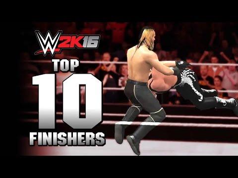 WWE 2K16 Top 10 Finishers