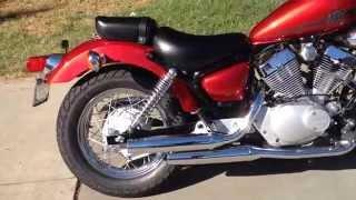 9. 2014 Yamaha V star 250 Red