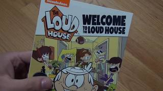 Here's an unboxing of Welcome to the Loud House, Season 1 Volume 1 on DVD, released by Nickelodeon and Paramount.