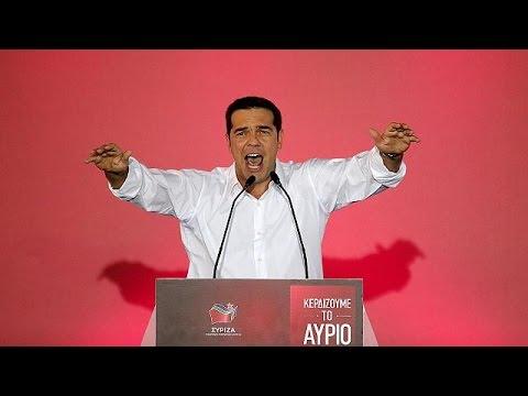 Αυλαία στην προεκλογική περίοδο με την ομιλία Τσίπρα στο Σύνταγμα