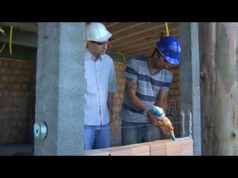 assentamento de tijolos - ARGAMASSA ARGARAP, PRODUTO INOVADOR NA CONSTRUÇAO CIVIL QUE DISPENSA O USO DE CIMENTO, CAL E AGUA, JA VEM PRONTA PARA O USO, COM EXCLUSIVA EMBALAGEM ...