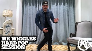 "Mr. Wiggles – Popping Session- 2018 ""while on tour"""