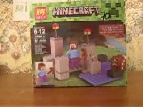 lego Minecraft Mountais(Горы) (видео)