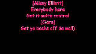 lyrics to lose control by missy elliot