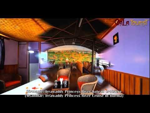 Irrawaddy Princess River bateau croisière Birmanie (Irrawaddy Princess River Cruise in Myanmar - Galatourist)