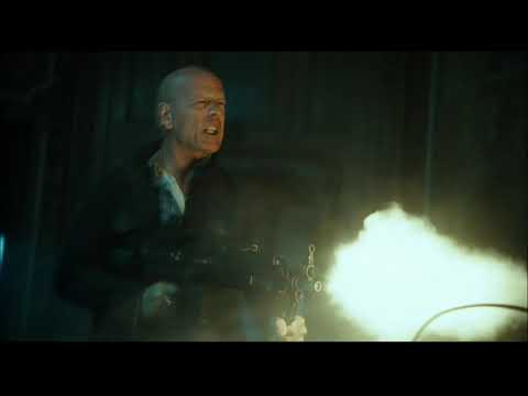 A Good Day To Die Hard (2013) - SafeHouse Shootout Scene - (1080p)