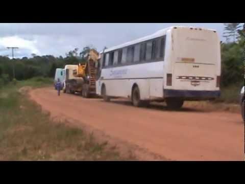Viagem para a mina da Anglo American, no Amapá