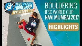 IFSC Climbing World Cup Navi Mumbai 2017 - Finals Highlights by International Federation of Sport Climbing