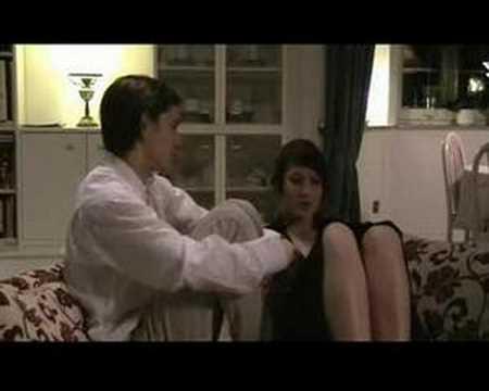 Szene aus dem Film Keinohrhasen, nachgestellt