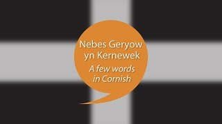 Compilation of #speakcornish week films. Find out more about Kernewek at www.learncornishnow.com.