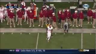 Justin Brown vs Iowa State, West Virginia & Oklahoma State (2012)