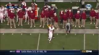 Justin Brown vs Iowa State, West Virginia & Oklahoma State (2012)