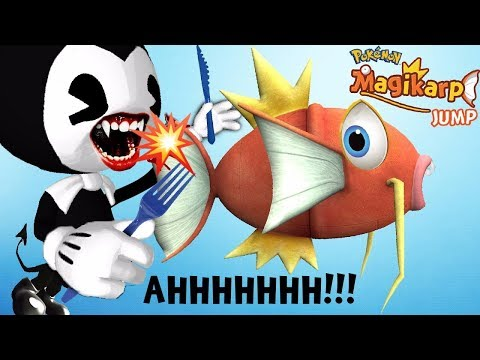 BENDY & THE INK MACHINE DOESN'T EAT MAGIKARP JUMP IN THIS ...