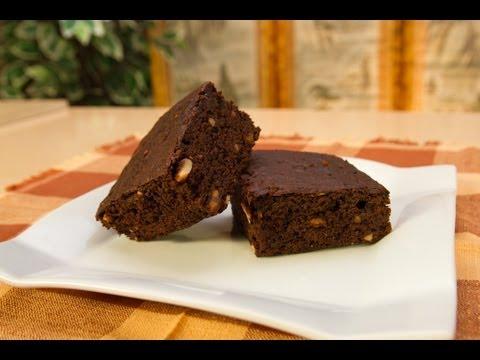 La mejor receta de brownies de chocolate, receta postre dulce