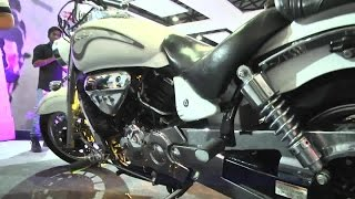 9. Hyosung ST7 At Hyderabad International Auto Show 2015 - Hybiz.tv