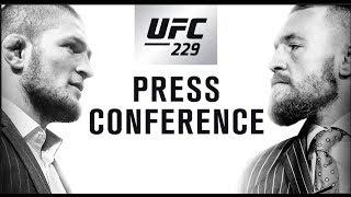 Video Khabib vs McGregor Press Conference: Hours Before MP3, 3GP, MP4, WEBM, AVI, FLV Juni 2019