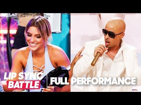 "Lele Pons's ""Gasolina"" vs. Prince Royce's ""Fireball""   Lip Sync Battle"