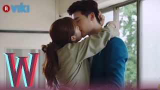 Video W - EP 7 | Lee Jong Suk & Han Hyo Joo's Jailhouse Kiss MP3, 3GP, MP4, WEBM, AVI, FLV April 2018
