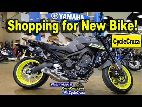 Shopping For New Motorcycle At Dealership | MotoVlog