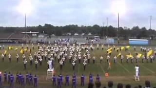 Exhibition Performance at the Greenville-Rose Band Classic - Greenville, NC; 10/18/2008 Back to the Future -- Alan Silvestri, arr. by Wallace; Shake -- The G...