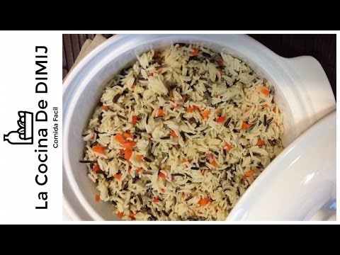 Como Hacer Arroz Indian Basmati Con Arroz Silvestre