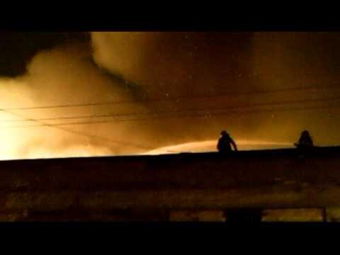 Incêndio na Favela Cidade de Deus No Ipiranga Zona Sul