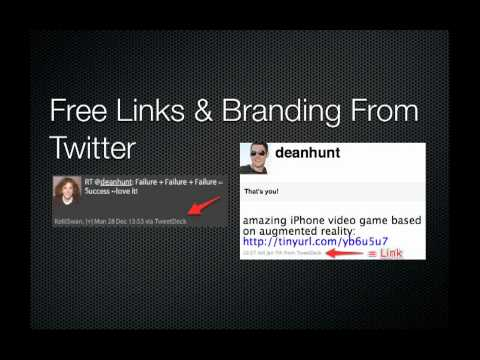 TweetBrand = Free Twitter Marketing & Twitter Branding