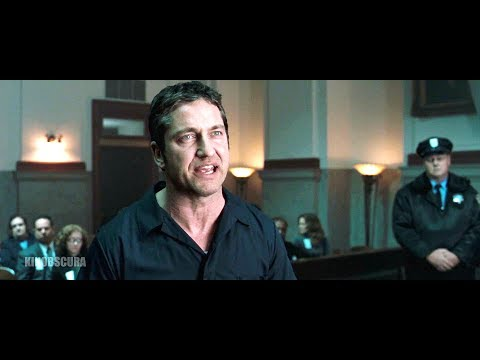 Law Abiding Citizen (2009) -  Clyde Fight with Judge Laura Burch