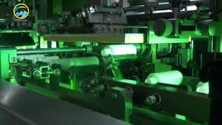 Automatic intelligent three-color screen printing machine for plastic, glass bottle, bottle cap youtube video