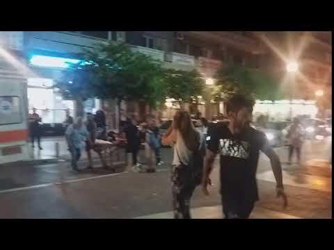 Video - Αγρίνιο: Συγκρούσεις μεταξύ ΜΑΤ και αναρχικών- Τραυματίστηκε μια νεαρή- ΦΩΤΟ