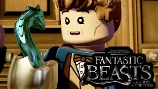LEGO Fantastic Beasts And Where To Find Them All Cutscenes FULL MOVIE