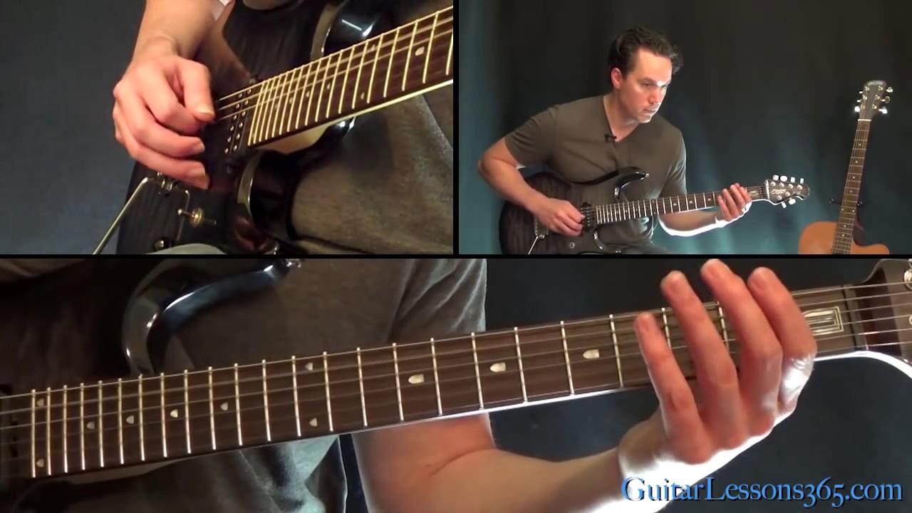 Metallica – One Guitar Lesson Pt.1 – Intro & Verse