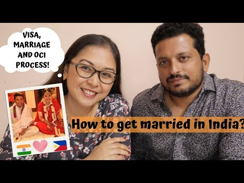 HOW TO GET MARRIED IN INDIA? FILIPINO INDIAN COUPLE MARRIAGE PROCESS | Vlog #  109
