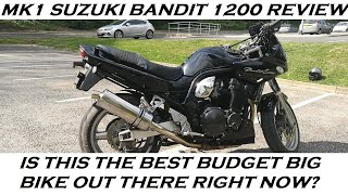 7. 1999 SUZUKI BANDIT 1200S REVIEW AND THOUGHTS