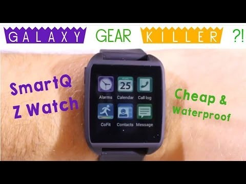Cheapest Waterproof Smartwatch 2014 - Iphone compatible - Samsung Galaxy Gear Killer ! [HD]