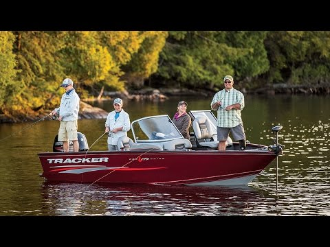 TRACKER Boats: 2017 Pro Guide V-175 Combo Deep V Fishing Boat